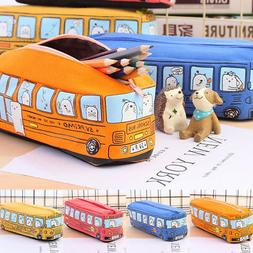 Pencil Case Pen Pouch Box Bag Cases School Office Supplies M