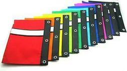 BAZIC Pencil Case Pouch 3-Ring w/White Strip Wholesale Deal