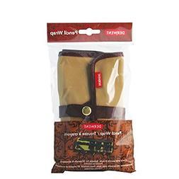 Derwent Pencil Case / Pouch, Canvas, Holds 30, Pencil Wrap,