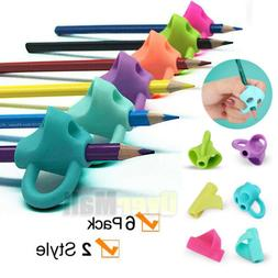 Pencil Grips Holder Silicone Ergonomic Pen Grippers Writing