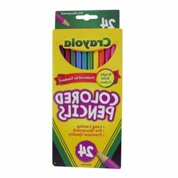 Crayola Colored Pencils 24ct Bright Bold Colors