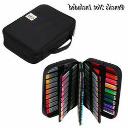Btsky Portable Colored Pencil Case - Colored Pencil Organize