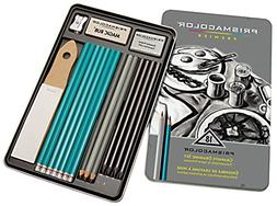 Prismacolor 24261  Premier Graphite Drawing Pencils with Era