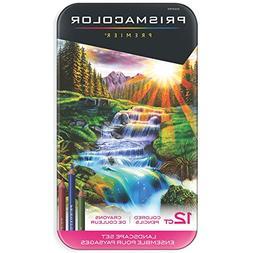 Prismacolor Premier Colored Pencils, Soft Core, Landscape Se