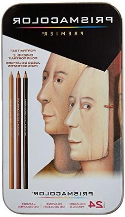 Prismacolor Premier Portrait Sketch Pencil Kit - Set of 24 P