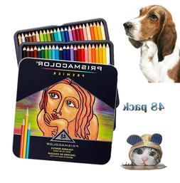 Prismacolor Premier Soft Core Colored Pencil, Set of 48 Asso