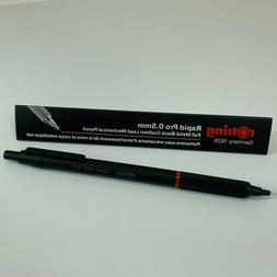 Rotring Rapid PRO Technical Drawing Metal Black 0.5mm Mechan