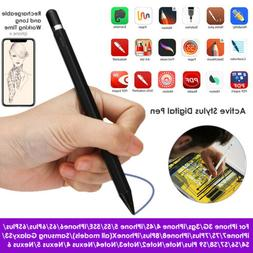 Rechargeable Sensitive Touch Screen Pen Pencil Stylus For iP