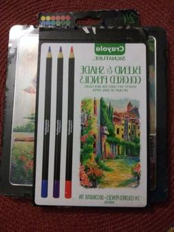 NEW Crayola Signature Colored Pencils - Multi-Color - 24 Cou