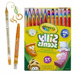 Crayola Silly Scents Twistables, Scented Crayons & Pencils,