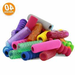 Emraw Soft Foam & Squishy Gel Pencil Grips Assorted Colors H