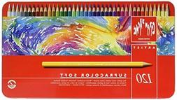Caran D'ache Supracolor Pencil, Set, 120/Tin