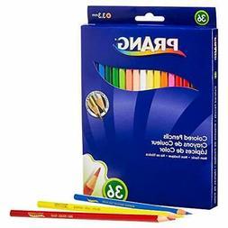 Prang Thick Core Colored Pencil Set, 3.3 Millimeter Cores, 7