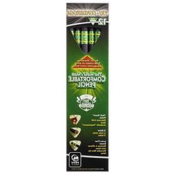 Ticonderoga Tri-Conderoga Pencils, #2 HB Soft, Black, 12 Cou