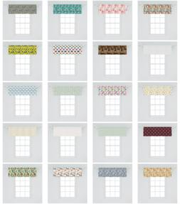 Ambesonne Valance Curtain Decorative Home Accent for Window