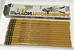 Vintage Dixon Ticonderoga Pencils Box of 12 No. 2-5/10 1388