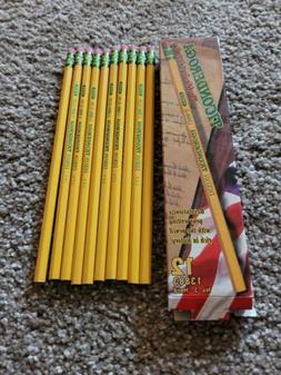 Vintage Dixon Ticonderoga Pencils 10 pack No. 3 Hard Pencils