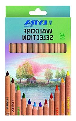 LYRA Waldorf Selection Giant Triangular Colored Pencils, Unl