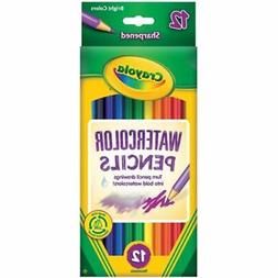Crayola 12ct Watercolor Colored Pencils 12 Count