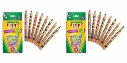 Crayola Write Start Colored Pencils,8/Pack, 2 Packs