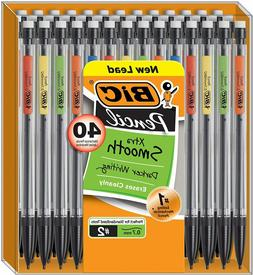 BIC Xtra-Smooth Mechanical Pencil, Medium Point , 40-Count
