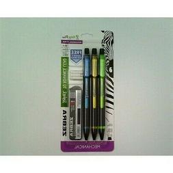 Zebra Pen Z-Grip Plus mechanical pencil 0.7mm bonus lead and